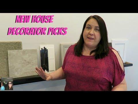 New Home Design Center Options Day Vlog | PaulAndShannonsLife