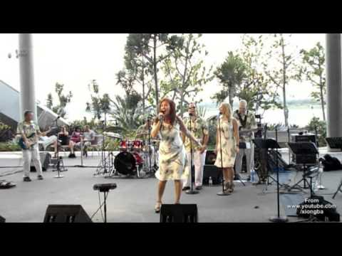 USAF Band of the Pacific-Hawaii Hana Hou at Gardens By The B