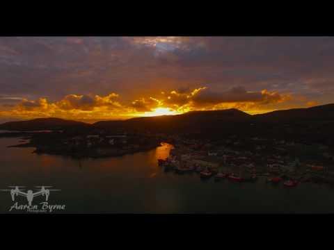 Sunset in Castletownbere (21-10-16)