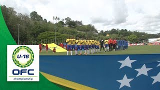 2018 OFC U-16 CHAMPIONSHIP SEMI FINAL - SOLOMON ISLANDS v FIJI Highlights