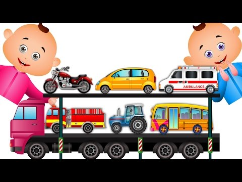 Learn Transport Vehicles & Many More For Children | JamJammies Nursery Rhymes| Kids Songs Collection