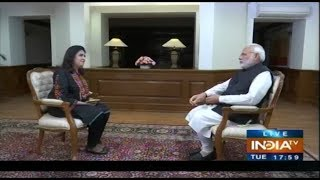 PM Modi's First Interview Of Lok Sabha Election 2019 (Full Video)