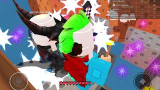 ROBLOX skywars ! With my brother