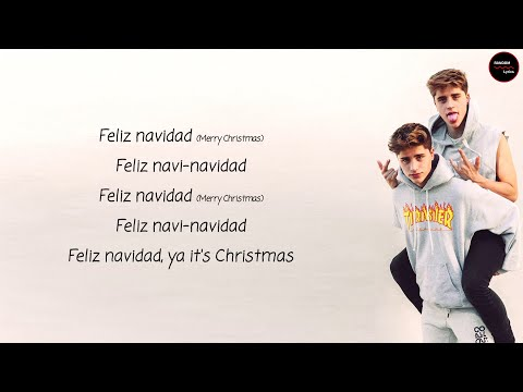 Martinez Twins - Feliz Navidad Lyrics + English Translation