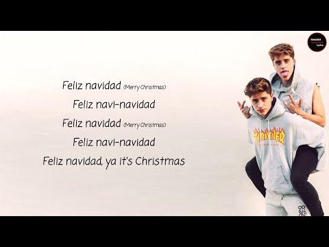 Martinez Twins  Feliz Navidad Lyrics + English Translation
