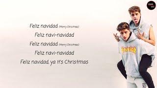 Martinez Twins - Feliz Navidad Lyrics + English Translation