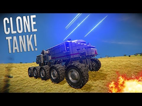 CLONE TURBO TANK! - Star Wars - Space Engineers