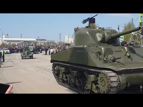 9 мая парад, Верхняя Пышма.