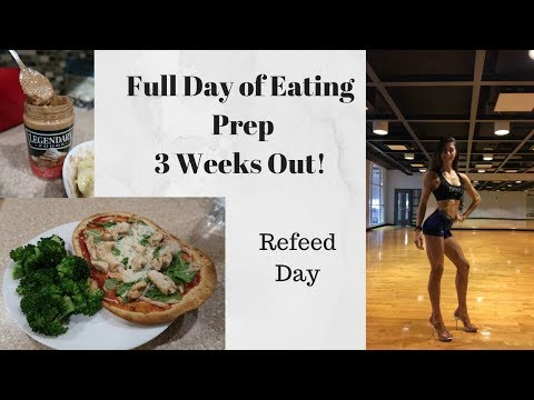 Refeed Day FDOE | 3 Weeks Out Junior Nats