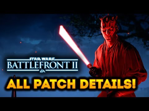 Star Wars Battlefront 2 - COMPLETE Patch Notes and Hotfix Details!