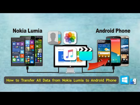 How To Transfer All Data From Microsoft / Nokia Lumia Windows Phone To Android Phone