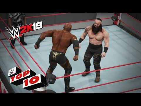 Menacing Middle-Rope Maneuvers: WWE 2K19 Top 10