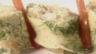 Herbed Crepe Roll With Chicken - Sanjeev Kapoor - Khana Khazana