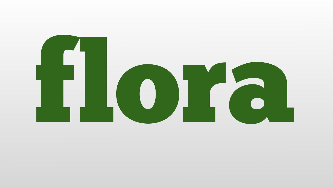 Flora Meaning And Pronunciation