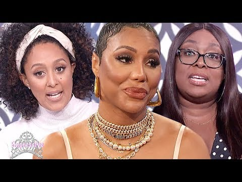 """""""The Real"""" co-hosts clap back at Tamar Braxton's comments on Wendy Williams Show"""