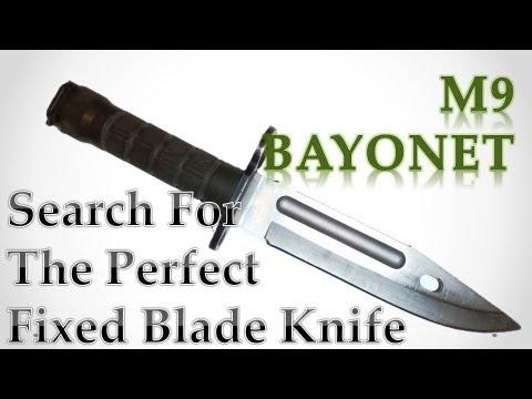 *CLASIC* KNIFE REVIEW   Phrobis M9 Bayonet