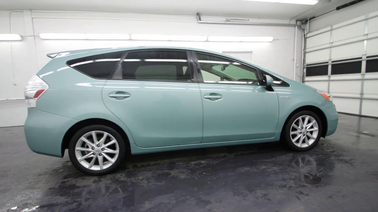 2013 Toyota Prius V Sea Glass Pearl D3281171 Seattle