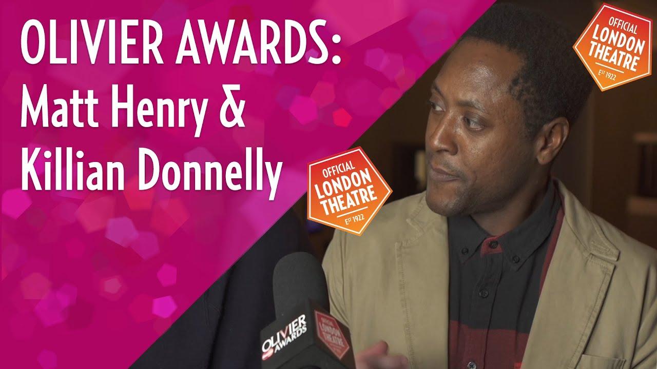 Killian Donnelly & Matt Henry on their Olivier Award nominations