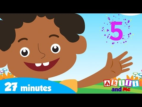 Learn to Count with Akili and Friends | Counting Fingers and More! | Akili and Me African Cartoons