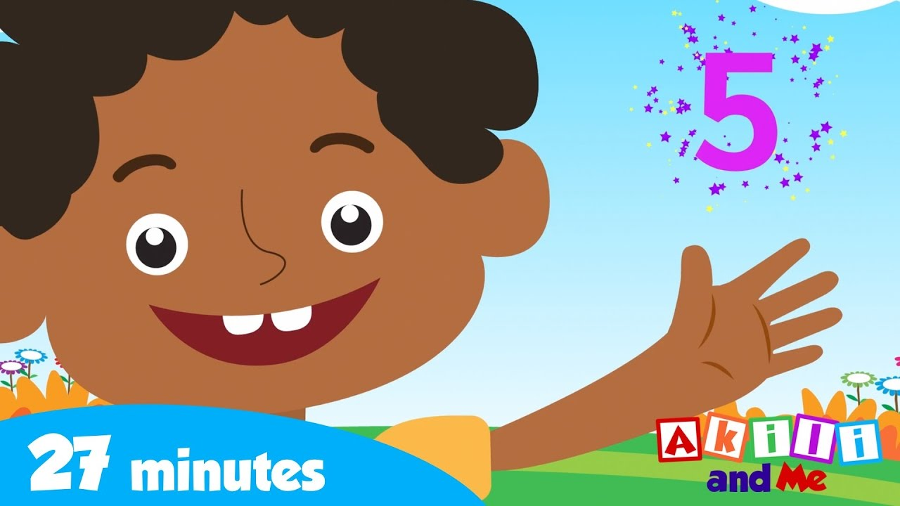 Learn to Count with Akili and Friends   Counting Fingers and More!   Akili and Me African Cartoons