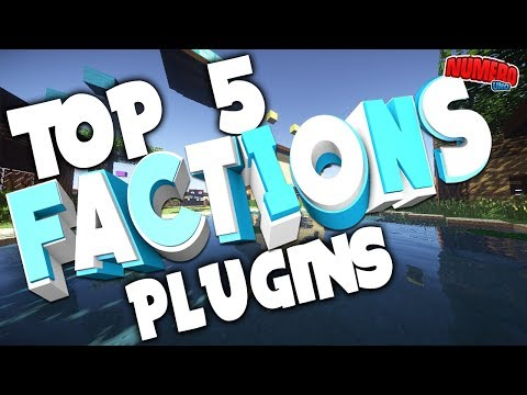"Minecraft Saturday   Top 5 ""FACTIONS"" Plugins!"