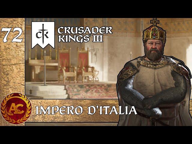 LA BASILISSA || CRUSADER KINGS III - SICILIA || GAMEPLAY ITA #72