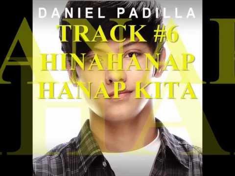 DANIEL PADILLA FULL TRACKS CD ALBUM