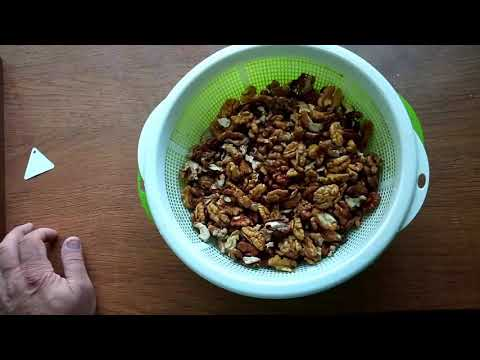 Как убрать горечь у грецких орехов