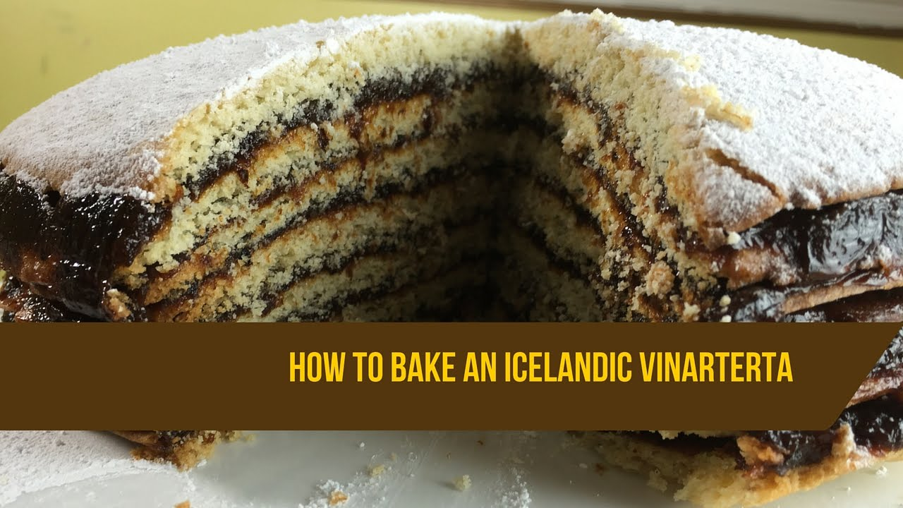 How to bake a 7 layer icelandic vinarterta cake youtube how to bake a 7 layer icelandic vinarterta cake forumfinder Gallery