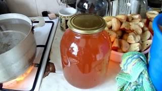 Варим сок в соковарке из яблок!!!!