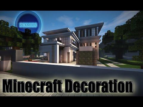 Εξωτερική διακόσμηση σπιτιού στο minecraft