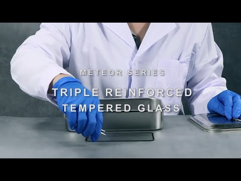 TGVIS—METEOR SERIES!! TRIPLE REINFORCED TEMPERED GLASS!!!!