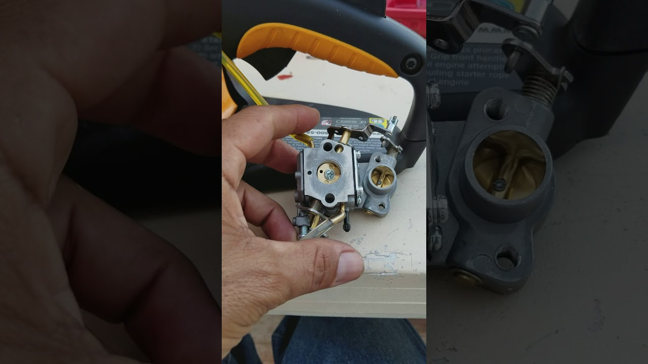 craftsman 42cc chainsaw carburetor engine diagram [ 1280 x 720 Pixel ]