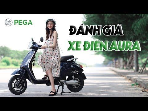 Đánh giá xe máy điện Pega Aura chính hãng