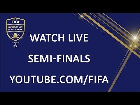 FIFA eWorld Cup 2018 - Semi-Finals (English Commentary)