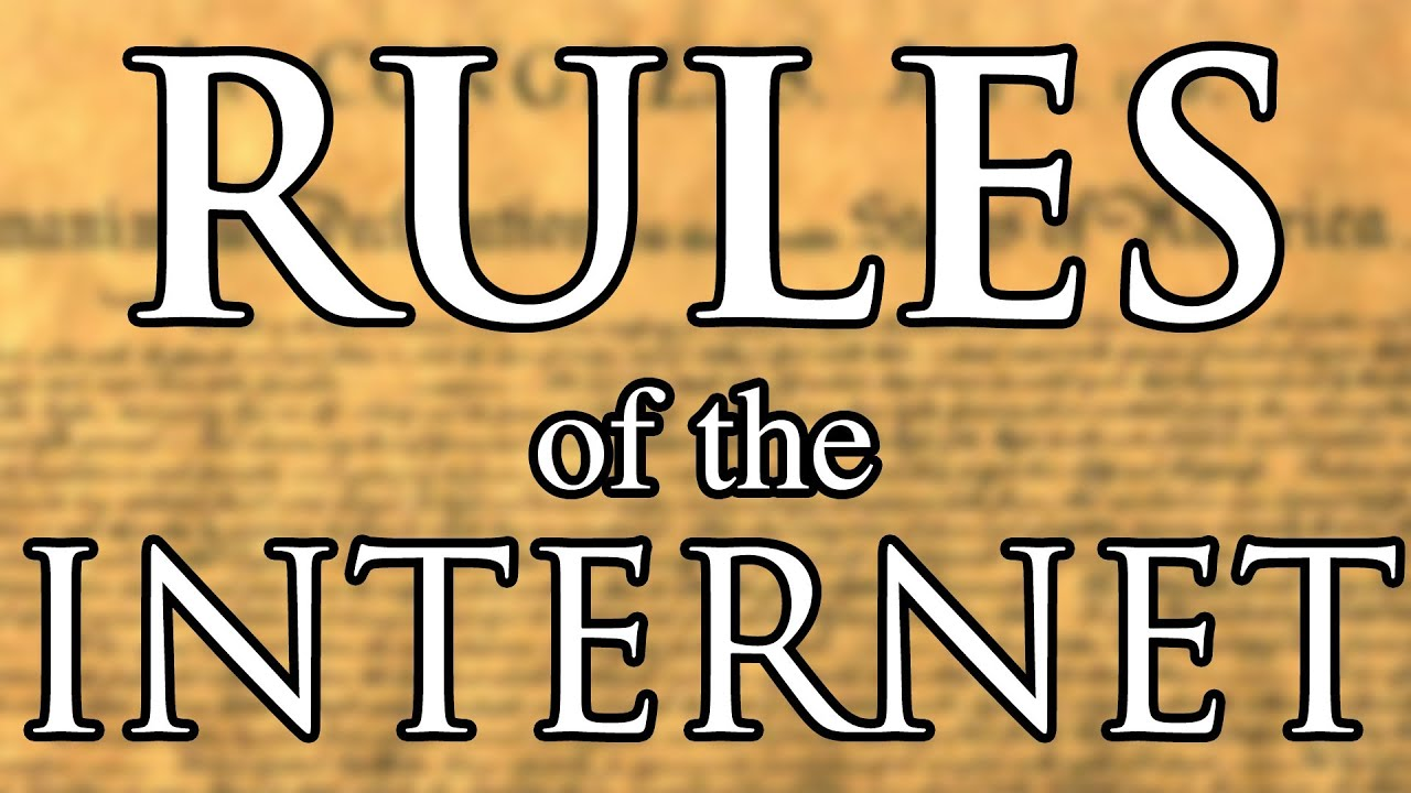 rules of the internet youtube