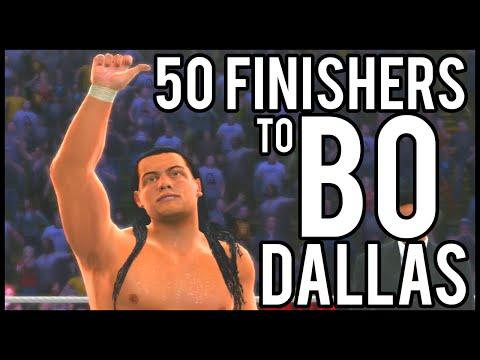 WWE 2K15 | 50 Finishers to Bo Dallas