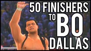 WWE 2K15 | 50 Finishers to Bo Dallas