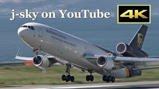 [4K] United Parcel Service - UPS MD-11 [N294UP] at Osaka Kanasi International Airport [関西空港]