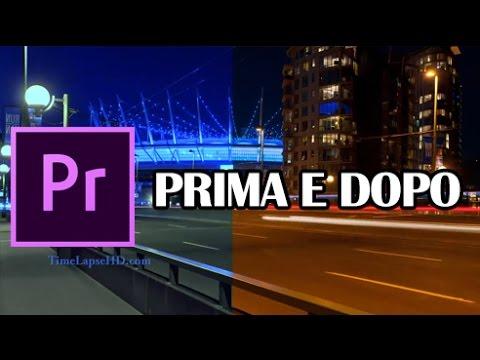 Adobe Premiere Pro CC 2017 - Tutorial italiano: prima e dopo - passo passo