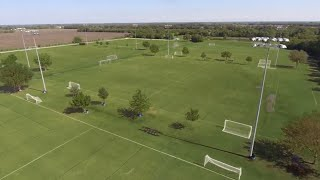 Fairview Texas Lighted Soccer Fields.  Who Knew?