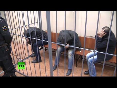 Пятеро задержанных по делу об убийстве Немцова заключены под стражу