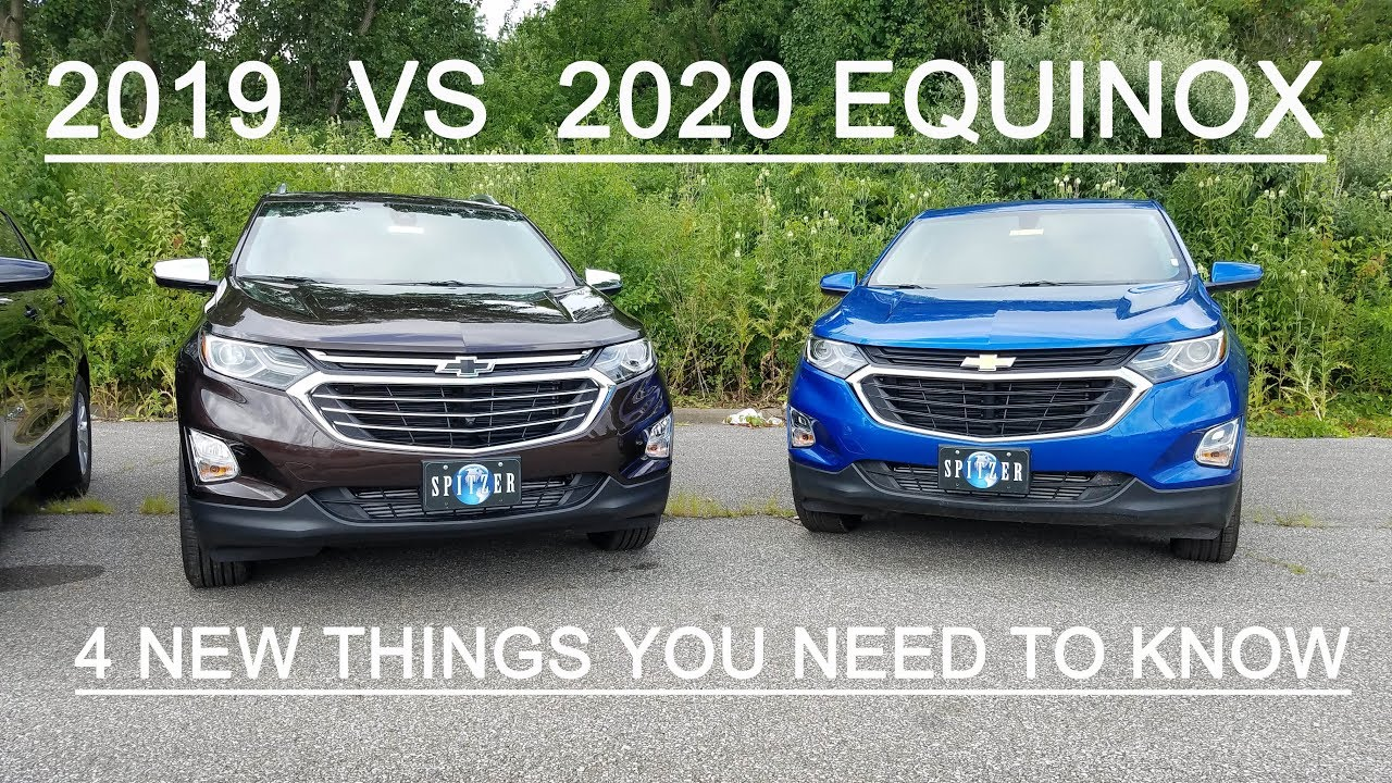 2020 Chevy Equinox Performance and New Engine