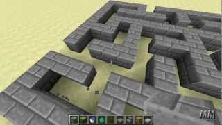 How To Build A Maze In Minecraft - Minecraft Tutorial S01 EP19