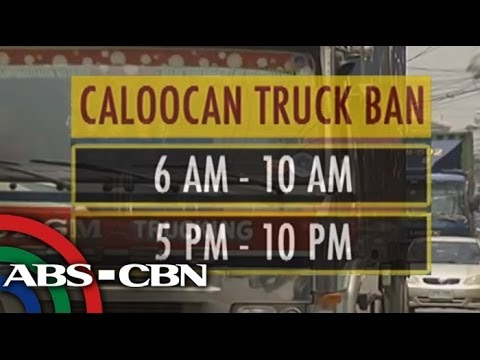 After Manila, Caloocan also eyes truck ban