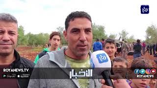 سقوط شظايا في منطقتي الجيزة بعمان وملكا بإربد