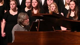 "The Wartburg Choir, ""Prayer"" by Morten Lauridsen, poem by Dana Gioia"