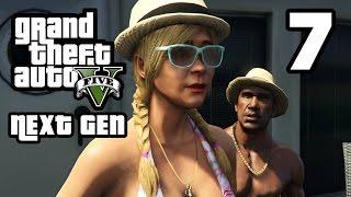 GTA 5 Next Gen Walkthrough Part 7 - Xbox One / PS4 - DADDY