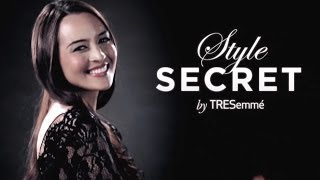 TRESemme Style Secret with Keratin Smooth Hair Tutorial