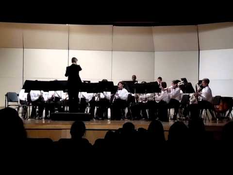 Bradford Middle School EOY Concert (2015) - Concert Band - Theme from Jurassic Park (Part 2)